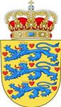Coat of Arms of Kingdom of Denmark