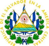 Coat of Arms of Republic of El Salvador or El Salvador