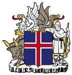 Coat of Arms of Republic of Iceland