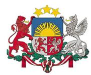 Coat of Arms of Republic of Latvia