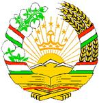 Coat of Arms of Republic of Tajikistan
