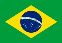 Flag of Federative Republic of Brazil