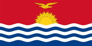 Flag of Republic of Kiribati