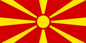 Flag of Republic of Macedonia