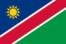 Flag of Republic of Namibia
