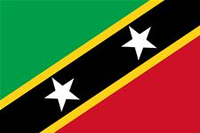 Flag of Federation of Saint Kitts and Nevis