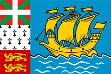 Flag of Saint Pierre and Miquelon