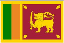Flag of Democratic Socialist Republic of Sri Lanka