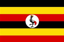 Flag of Republic of Uganda